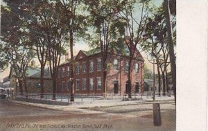 Maine Biddeford Old High School Washington Street