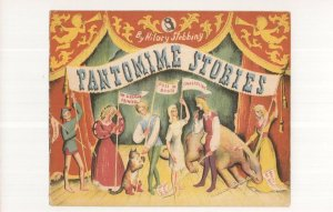 Pantomime Stories 1943 WW2 Puffin Book Postcard