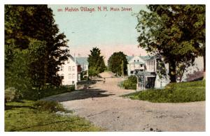 New Hampshire  Melvin Village , Main Street