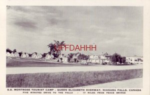 S.S. TOURIST CAMP - QUEEN ELIZABETH HWY, NIAGARA FALLS, CANADA P. Savriga, Prop.