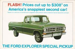 Advertising 1970 Ford Explorer F-100 & F-250 Pickup Trucks