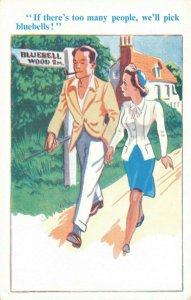 Comic Postcard Garland, Rudolf & Co. W114, Seaside Joke, Humour KM3