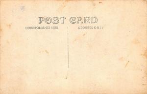 HEREFORD, TEXAS MAIN STREET-VINTAGE AUTO'S-1909 RPPC REAL PHOTO POSTCARD