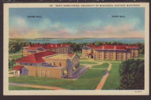 Dormitories,University of Wisconsin,Madison,WI Postcard