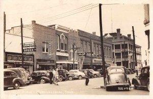 Murfreesboro Tennessee Street Scene Real Photo Vintage Postcard AA10417
