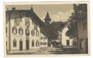 RP: Oberammergau - Haupstrasse , Germany , PU-1933