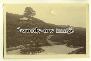 tp0267 - Yorks - Cafe and House, on the Ilkley Moors back in c1922 - postcard