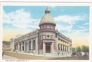 PAWTUCKET, Rhode Island, 1900-10s; Post Office