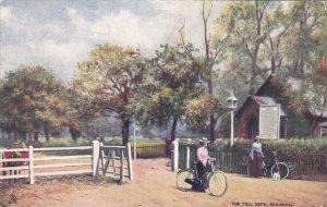 DULWICH, London, England, PU-1937; The Toll Gate