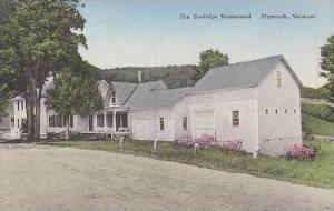 Vermont Plymouth The Coolidge Homestead Albertype
