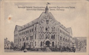 TREVES, Rhineland-Palatinate, Germany; Advance General Headquarters, Governme...