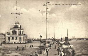 CPA  Le Havre - La Jetée et le Sémaphore   (201322)