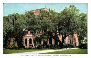 Mississippi Biloxi The Tivoli Hotel On The Beach