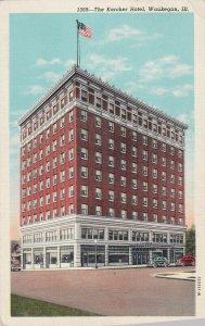 WAUKEGAN , Illinois, 1910s ; The Karcher Hotel