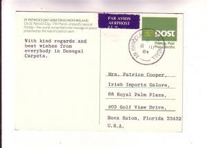 St Patricks Day, From Ireland, Saint Preaching Peace, Prepaid Postage