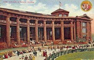 SEATTLE WA~LOT OF 3 1909 EXPOSITION POSTCARDS~FORESTRY-AUDITORIUM-FINE ARTS BLDG