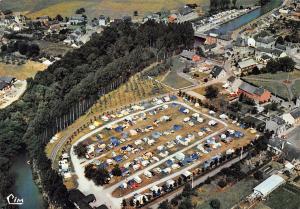 Belgium Han sur Lesse Vue aerienne Camping du Touring Club