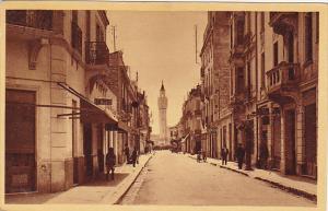 Tunisia Bizerte Rue Capitaine Madon