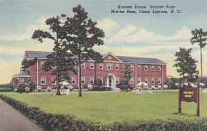 Hostess House Hadnot Point Marine Base, Camp Lejeune, North Carolina, PU-1951