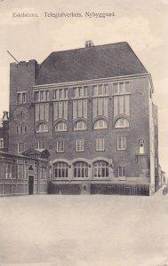 ESKILSTUNA, Sweden, PU-1917; Telegrafverkets, Nybyggnad