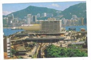 Canton Railway Terminal With The Grand View, Kowloon, Hong Kong, China, 1970-...