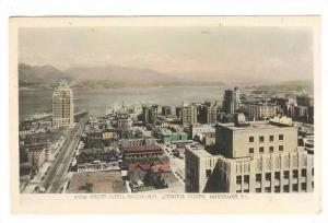RP, View From Hotel Vancouver, Looking North, Vancouver, British Columbia, Ca...