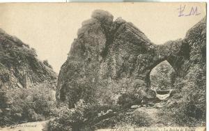 France, Itxassou, La Breche de Roland, 1910s used Postcard
