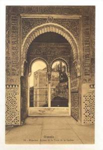 Alhambra, Ajimez De La Torre De La Cautiva, Granada (Andalucia), Spain, 1900-...