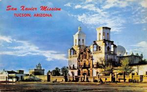 Tucson Arizona~San Xavier Mission~1960 Postcard