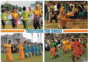 Thailand.  Traditional Thai Dances.  Colorful.