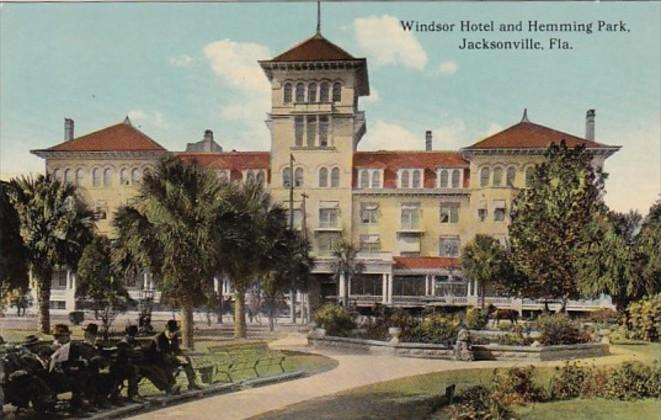 Florida Jacksonville Windsor Hotel and Hemming Park