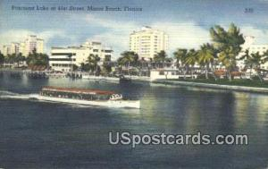 Pancoast Lake Miami Beach FL Unused