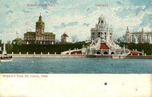 MO - St Louis. 1904 World's Fair. Cascades