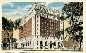 MA - Worcester. Hotel Bancroft