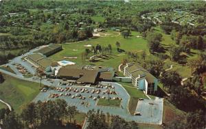 Asheville North Carolina~Great Smokies Hilton Resort Aerial View~1977 Postcard