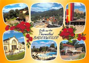 Gruesse aus dem Thermalbad Badenweiler Schwimmbad Theatre Castle
