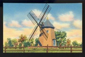 Eastham, Massachusetts/MA Postcard, Oldest Windmill On Cape Cod
