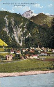 Austria Mayrhofen mit Ahornspitze Zillertal Tirol 05.75