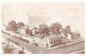 Little Rock AR~Territorial Restoration Block~E Third Street Vignette~1930s Cars