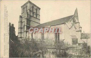 Postcard Old Angouleme Charente Eglise Saint Andre