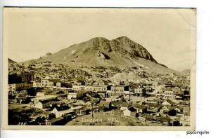 Tonopah NV Town Aerial View  RPPC Postcard