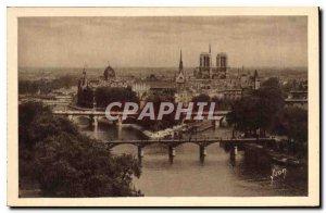 Postcard Old Paris Notre Dame Cite