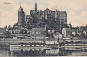 MEISSEN , Saxony , Germany , 1900-10s ; Steamer LEITMERITZ