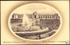 Exposition 1910, Belgium Brussels, Facade Principale