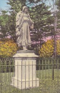 New York Letchworth State Park Mary Jamison Monument Albertype