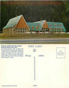 Northlander Motor Lodge, Summit Rogers Pass, British Columbia, BC, Chrome