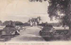 CHENONCEAUX, Indre Et Loire, France, 1900-1910´s; Le Chateau, Vue De La Gran...