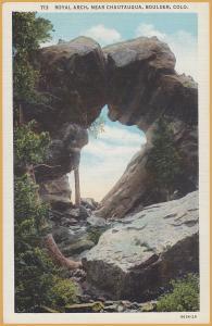 Boulder, Colo., Royal Arch, near Chautauqua -