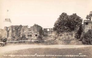 Granby Connecticut Old Newgate Prison and Copper Mines Real Photo PC JC932462