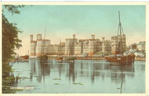 UK, Caernarvon Castle, early 1900s unused Postcard
